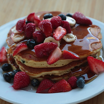 Animal Style Pancakes