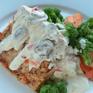 Turkey Meatloaf with house-made gravy